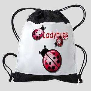Ladybugs Drawstring Bag