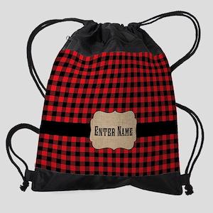 Buffalo Personalized Drawstring Bag