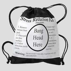 Stress Reduction Pad Drawstring Bag