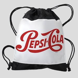Pepsi Logo Drawstring Bag