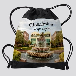 Charleston_11x9_WaterfrontPark_Pine Drawstring Bag
