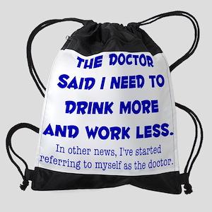 The Doctor Drawstring Bag