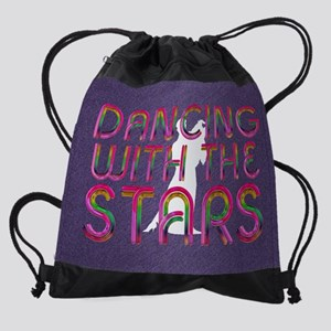 dancingwstars1 Drawstring Bag