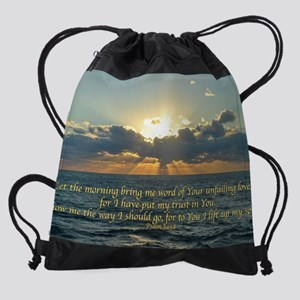 psalm143Lg Drawstring Bag