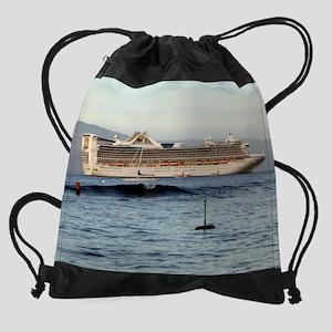 ship20x16 Drawstring Bag