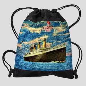 RMS Titanic Drawstring Bag
