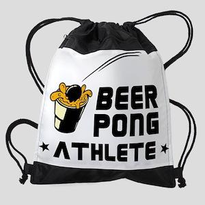 Beer Pong Athlete Drawstring Bag