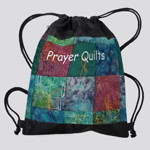 Prayer Quilt Cover Drawstring Bag