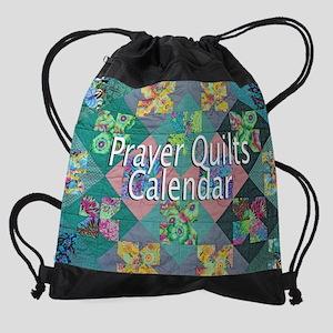 Prayer Quilt CVR 2015 Drawstring Bag