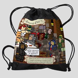 gamerLaw_01 Drawstring Bag