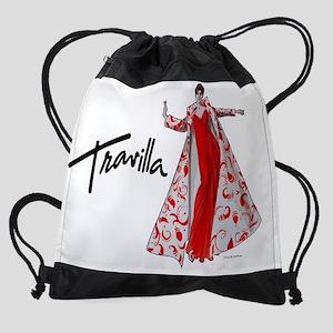 CalendarTravillaSketch1 Drawstring Bag