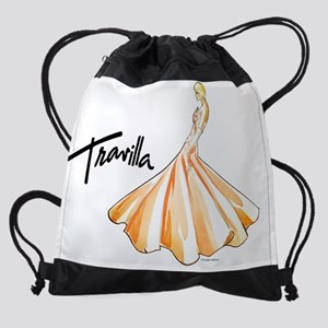 CalendarTravillaSketch19 Drawstring Bag