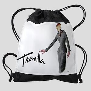 CalendarTravillaSketch61 Drawstring Bag