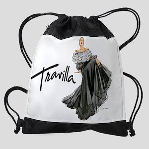 CalendarTravillaSketch40 Drawstring Bag