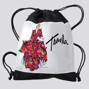 CalendarTravillaSketch11 Drawstring Bag