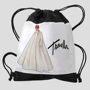 CalendarTravillaSketch24 Drawstring Bag