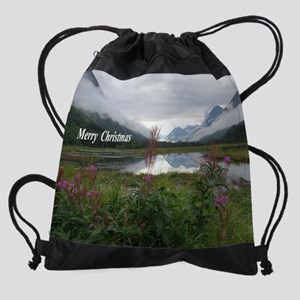 Portage Valley on Kenai Peninsula Drawstring Bag
