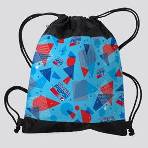 Crystal Pepsi Drawstring Bag