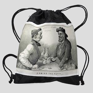 Coming the putty - 1853 Drawstring Bag