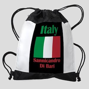 Sannicandro Di Bari Italy Drawstring Bag