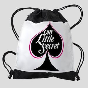 our little secret Drawstring Bag