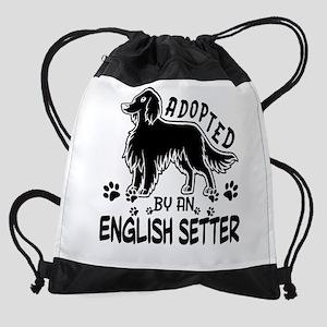 English Setter Drawstring Bag