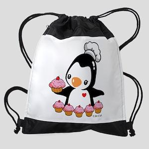 Bake a Cupcake Drawstring Bag