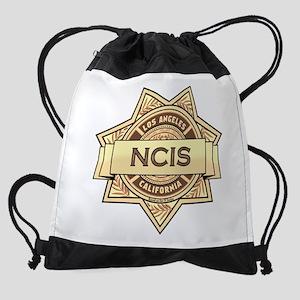 NCIS Badge Drawstring Bag