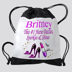 BEST NURSE Drawstring Bag