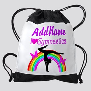 TALENTED GYMNAST Drawstring Bag