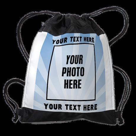 Personalized Sports Drawstring Bag