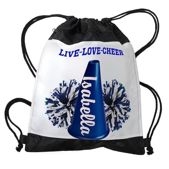 404d695843cb cheerleader personalize Drawstring Bag