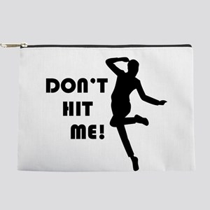 Funny Dodgeball Dont Hit Me Makeup Bag