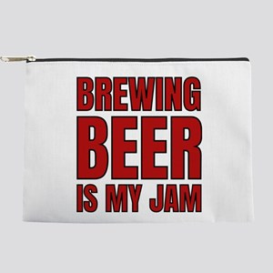 Homebrew Brewing Beer Is My Jam Fun Bre Makeup Bag