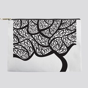 Abstract Tree Makeup Pouch