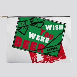 Wish You Were Beer Makeup Bag