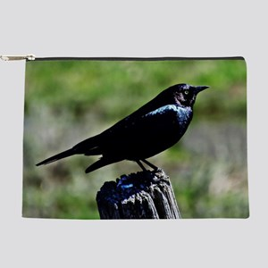 Brewer's Blackbird Makeup Pouch