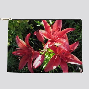 Deep Pink Hybrid Asiatic Lily Makeup Bag