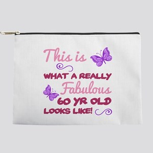 Fabulous 60th Birthday Makeup Pouch