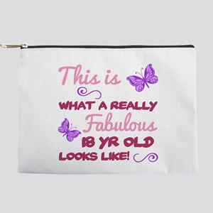 Fabulous 18th Birthday Makeup Pouch