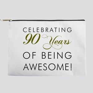 90 Years Of Being Awesome Makeup Bag