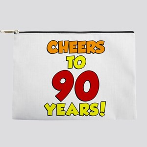 Cheers To 90 Years Makeup Bag