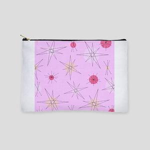 Pink Atomic Era Art Makeup Bag