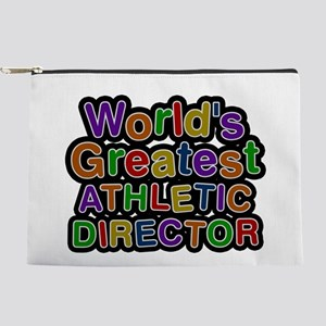 World's Greatest ATHLETIC DIRECTOR Makeup Pouch