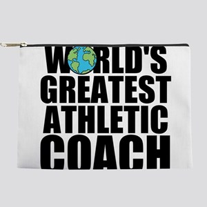 World's Greatest Athletic Coach Makeup Pouch