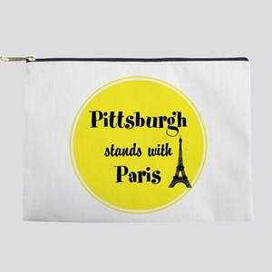 Pittsburgh stands with Paris Makeup Pouch
