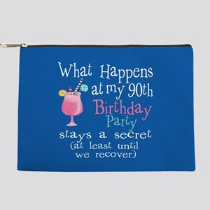 90th Birthday Party Makeup Bag