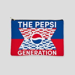 Pepsi Flashback Checkered Makeup Bag