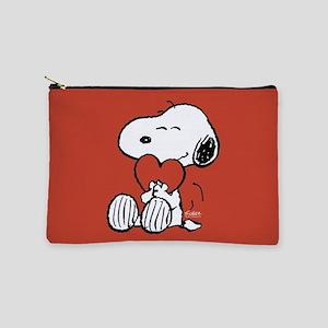 Peanuts: Snoopy Heart Makeup Bag