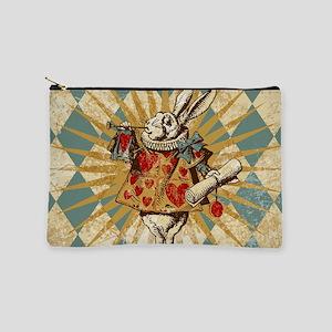 White Rabbit Vintage Makeup Pouch